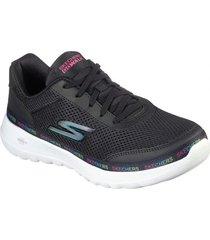 zapatos mujer  go walk joy - magnetic negro skechers