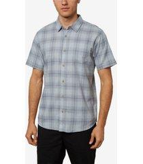 o'neill men's dialed short sleeve shirt