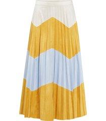 maxikjol onljune faux suede maxi skirt