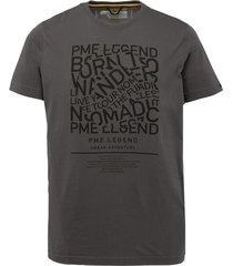 pme legend ptss212531 0114 asphalt grey t-shirt legend
