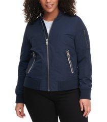 levi's plus size trendy melanie bomber jacket