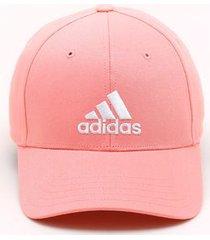 boné adidas baseball rosa - único