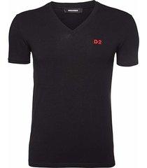 t-shirt d2 v-neck