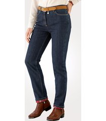 thermojeans toni donkerblauw::rood