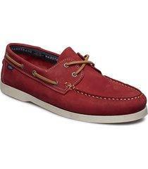 2-eye nbk båtskor skor röd marstrand