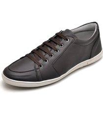 sapatenis casual esporte fino jna shoes marrom - cafã© - masculino - dafiti