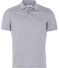 camisa tipo polo jersey unicolor regular fit para hombre 72037