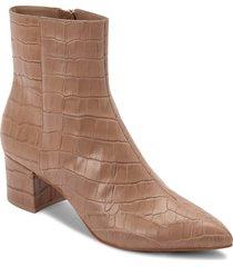 women's dolce vita bel bootie, size 9 m - brown