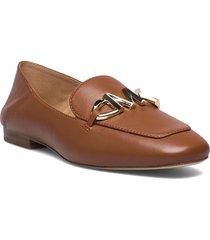 izzy loafer loafers låga skor brun michael kors