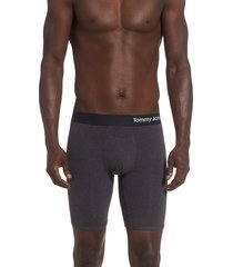 men's tommy john cool cotton boxer briefs, size small - grey