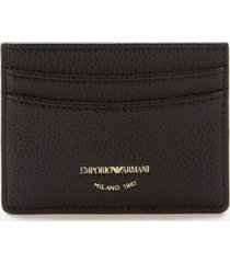 emporio armani women's card holder - black