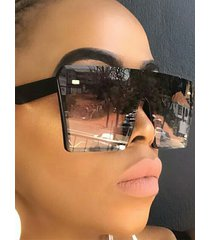 vendimia gafas de sol cuadradas