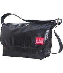 manhattan portage large vinyl vintage version 2 messenger bag