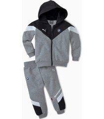 bmw m motorsport joggingpak, zwart, maat 80 | puma