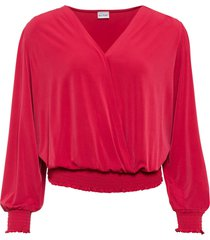 maglia a portafoglio (rosso) - bodyflirt