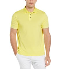 men's heathered short sleeve polo shirt