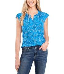 cece flutter-sleeve blouse