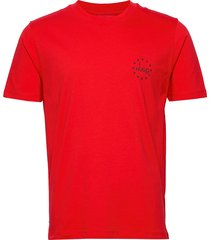 dauber t-shirts short-sleeved röd hugo