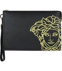 versace small icon pouch