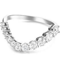 'aria belle' diamond 18k white gold ring