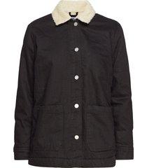 judy jacket jeansjack denimjack zwart wood wood