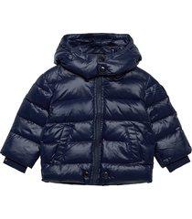 jianb jacket gevoerd jack blauw diesel