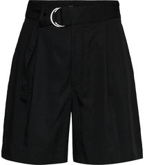 high-rise 6 tencel™ short bermudashorts shorts svart banana republic