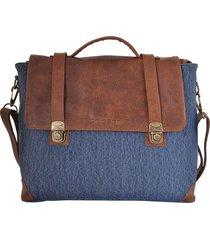 maletín azul briganti pesaro