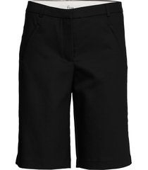 angelie 633 straight bermudashorts shorts svart fiveunits