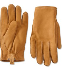 equinox leather gloves, brown, x large