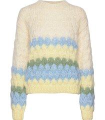 bubble knit stickad tröja multi/mönstrad maud