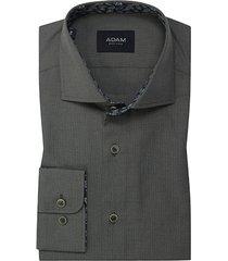 adam est 1916 adam est. 1916 dress overhemd groen mini dessin