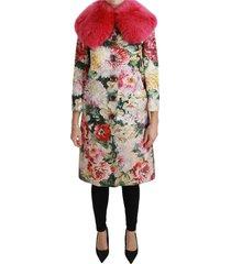 bont bloemen crystal trenchjas jacket
