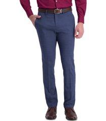 kenneth cole reaction men's slim-fit stretch pattern dress pants