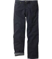 fodrade jeans, klassisk passform, raka ben
