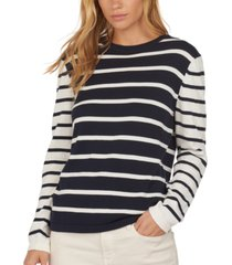 barbour padstow cotton colorblocked stripe top