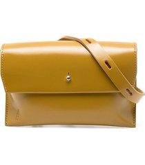 ally capellino money pouch - yellow