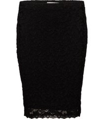 skirt kort kjol svart rosemunde