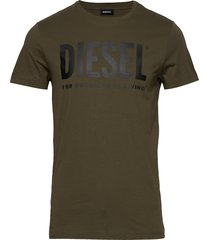 t-diego-logo t-shirt t-shirts short-sleeved grön diesel men