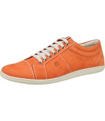 sapatenis sandro roderick laranja - laranja - masculino - dafiti