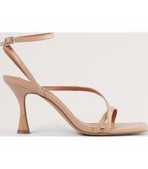 na-kd shoes sandaler med remmar - beige