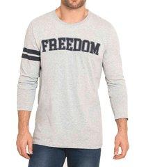 camibuzo freedom gris para hombre croydon