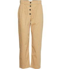 eliza pantalon met rechte pijpen beige stig p