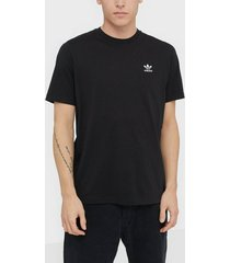 adidas originals essential t t-shirts & linnen svart