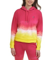 tommy hilfiger sport cotton ombre hoodie