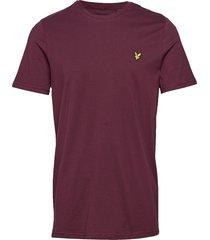crew neck t-shirt t-shirts short-sleeved lila lyle & scott