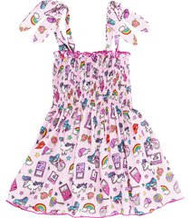 mc2 saint barth nineties patch girls dress