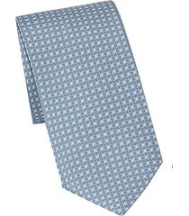 concentric ovals printed tie