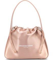 alexander wang ryan shoulder bag - pink