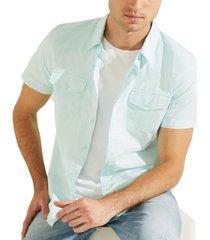 guess men's nottingham western shirt